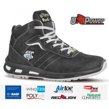 https://www.calzadosdeseguridad.com: Bota de seguridad U-POWER Shape ESD