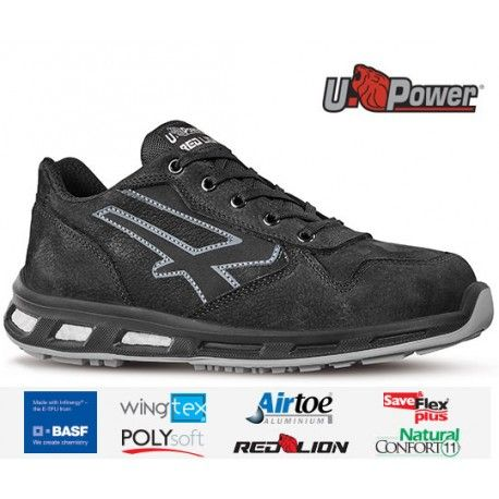 Zapato de seguridad U-POWER Carbón