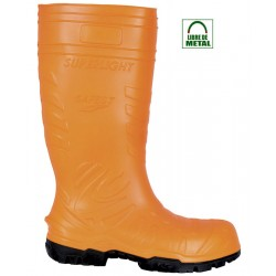 https://www.calzadosdeseguridad.com: Bota de agua Cofra SAFEST ORANGE